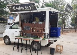 Auto Kaffee zum mitnehmen
